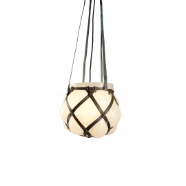 Suspension MACRAME Lampe - métal