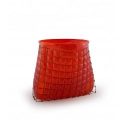 Vase GRID Bag Big Rouge