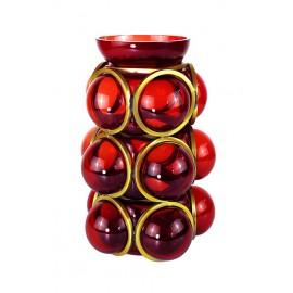 Vase CIRCLE Rouge