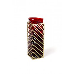 ANGLE vase Red