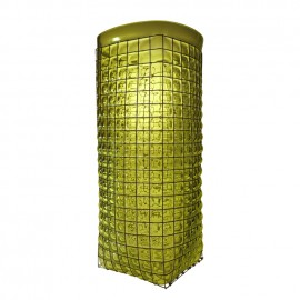 GRID Giant Vase Acid Green