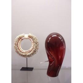 Sculpture NAIL Grenat