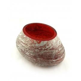 Bowl METEORITE petit grenat