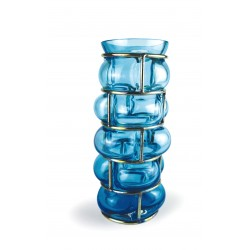 BRICK Vase Ice blue