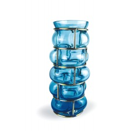 Vase BRICK Ice blue