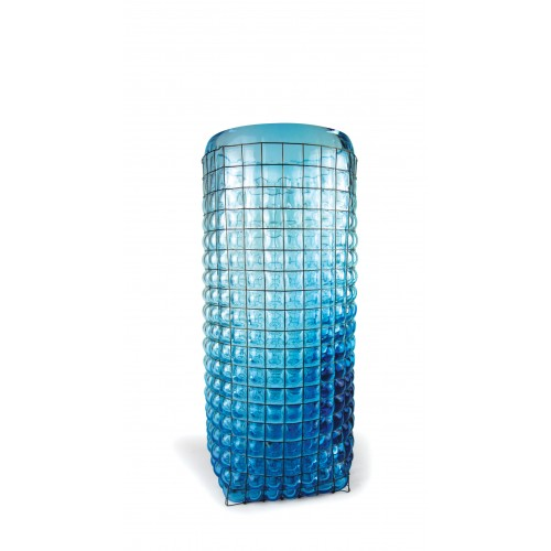 GRID Giant Vase Ice Blue