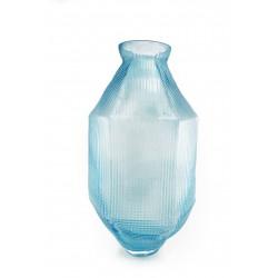 Vase TRACE Long Ice Blue