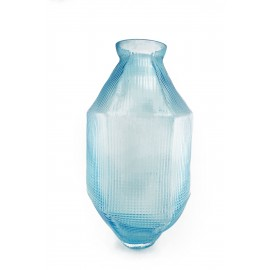 Vase TRACE Long Ice Blue