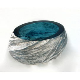 Bowl METEORITE small Ice Blue