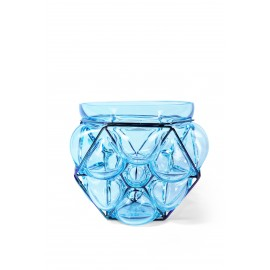 Vase Flower Ice Blue