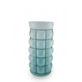 Vase SKYLINE Opale skyblue