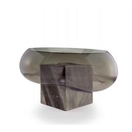 GRAVITY CUBE Dish Grey Marble