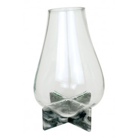 GRAVITY CROSS Vase Grey Marble