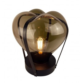 Lampe HELIUM Simple Noir/ Couleur
