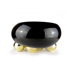 Coupe Dish GRAVITY 5 BALLS Black & Gold
