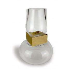 Vase SLAVE Square Gold