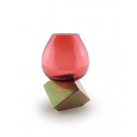 CUT CUBE vase