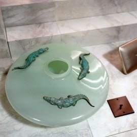 Vase CROCO