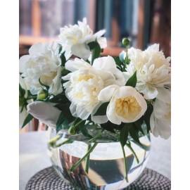 No Limit Round Vase White