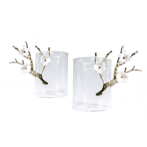 Blossom Mugs Set of 2