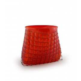 Vase GRID Bag Big Rouge