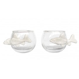 Round cup porcelain NO LIMIT (Set de 2)