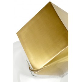 Sculpture GRAVITY CUBE Bronze