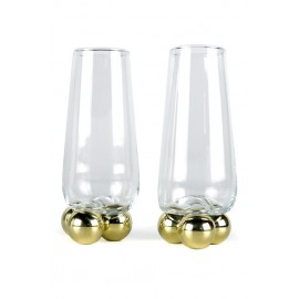 Verres Gravity 3balls  Highball Set de 2