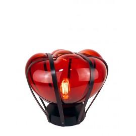 Lampe HELIUM Double Noir/ Couleur