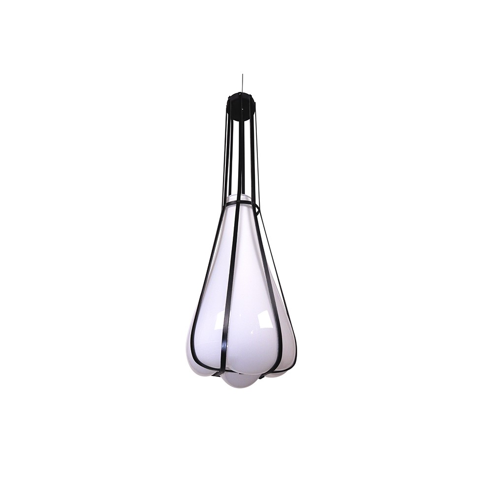 lampe helium suspension noir couleur vanessa mitrani
