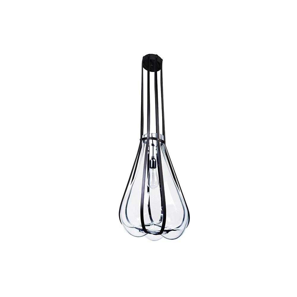 lampe helium suspension noir couleur vanessa mitrani. Black Bedroom Furniture Sets. Home Design Ideas