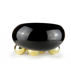 Coupe Dish GRAVITY 5 BALLS Black & Gold